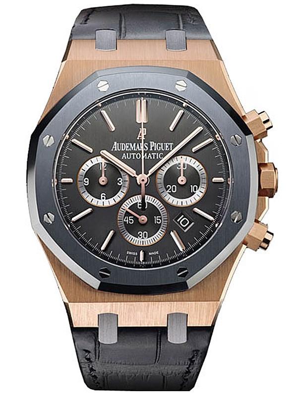 a1de96e54759 Royal Oak Leo Messi Automatic Chronograph Rose Gold Men s Watch