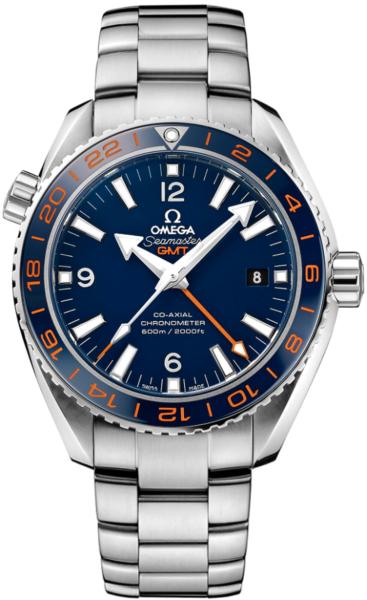 Planet Ocean Blue Dial Stainless Steel Men's Watch 232.30.44.22.03.001