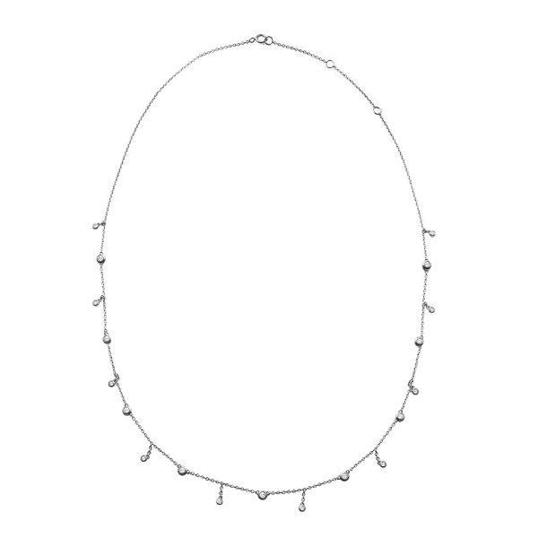 Diamond Offset Choker