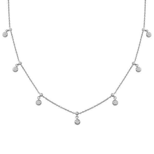 Dangling Diamond Choker