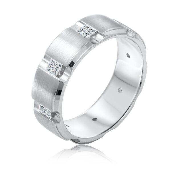 Prince Diamond Mens Wedding Ring